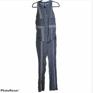 10 Crosby Derek Lam intermix silk jumpsuit size 2